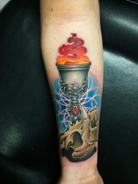 Tattoos - skull - 104838