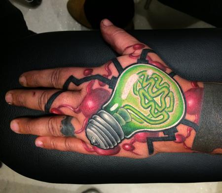 Tattoos - BULB - BRAIN - 102080
