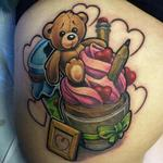 MUFFIN  Tattoo Design Thumbnail