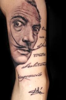 Tattoos - Salvador Dali - 98951