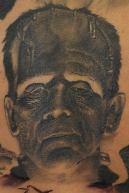 Tattoos - Frankenteins Monster - 119211
