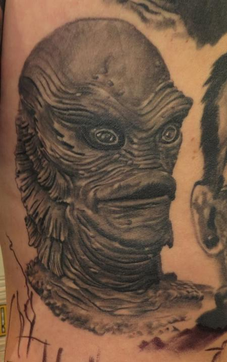 Tattoos - Creature from the Black Lagoon - 119215