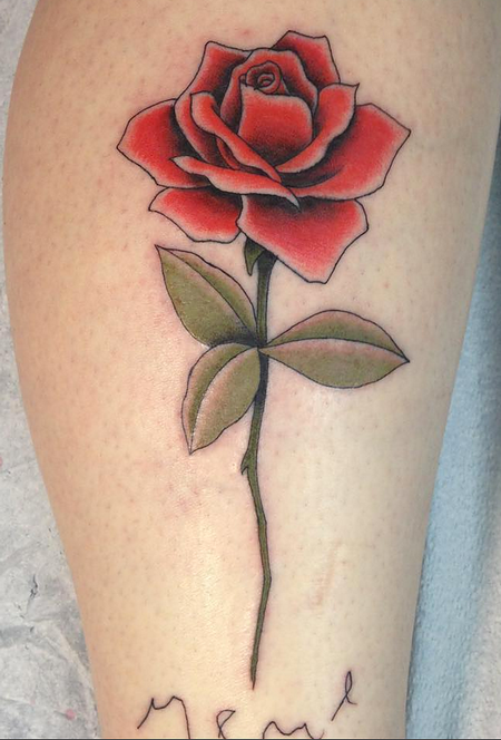 Rose Tattoo Design Thumbnail