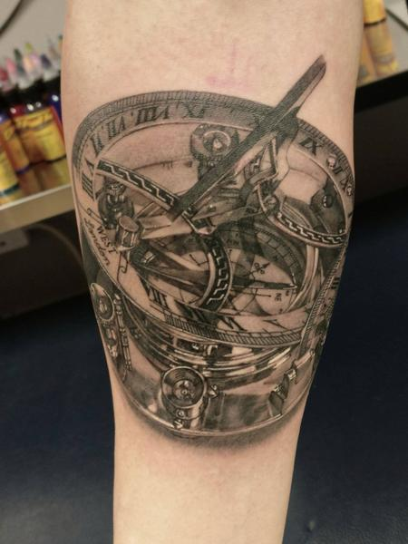 Tattoos - Nautical compass - 128352