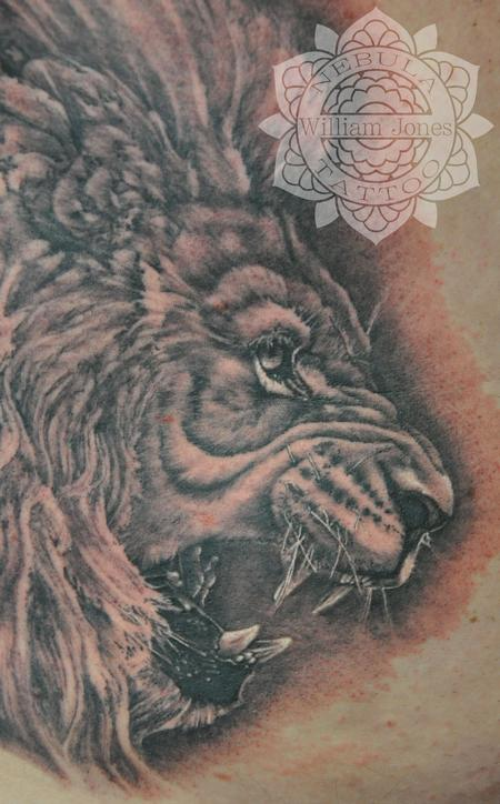 Tattoos - Lion - 105018