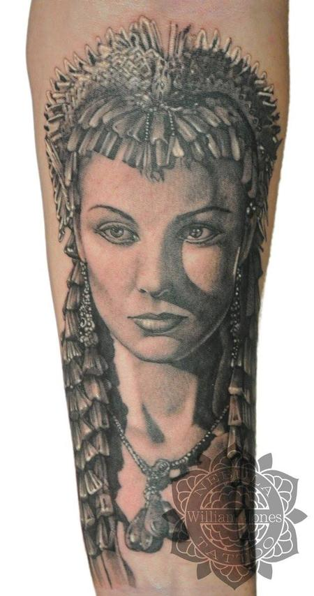 Cleopatra Tattoo Design Thumbnail