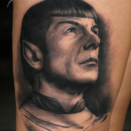 Tattoos - Spock Portrait - 101781