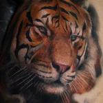 Realistic Tiger Tattoo Design Thumbnail