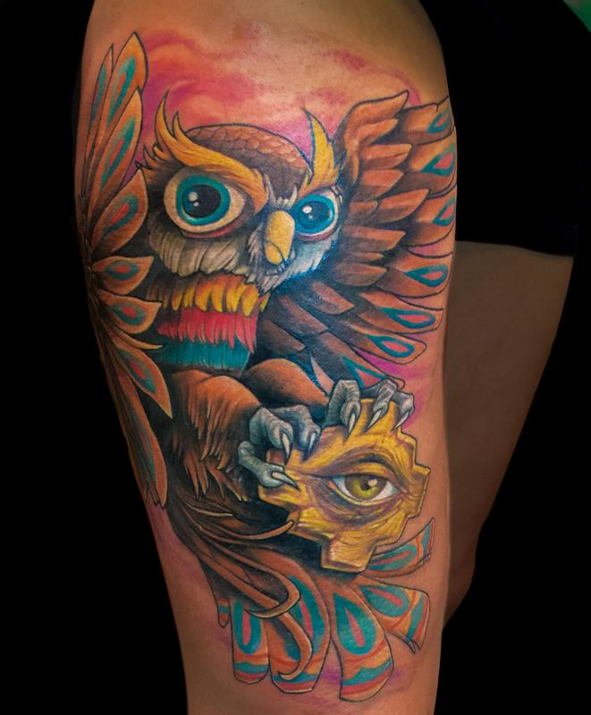 Color own by zhimpa moreno tattoos for Tattoo shops in moreno valley