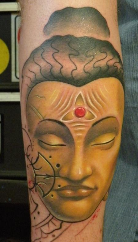 buddha mind Tattoo Design Thumbnail