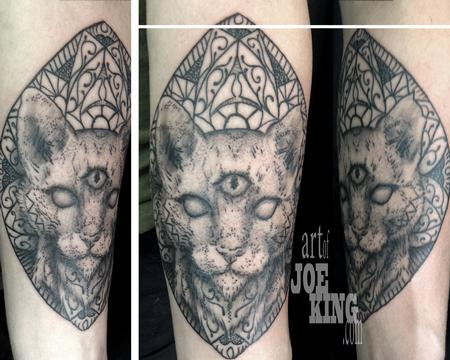 Third Eye Cat Design Thumbnail