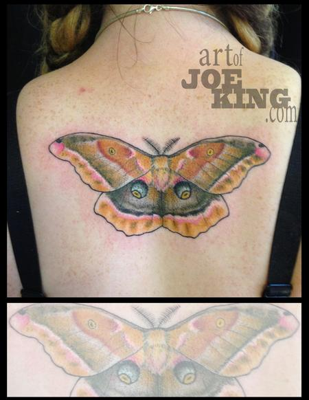 Tattoos - Polyphemus Moth - 96252