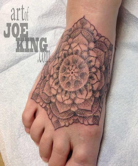 Tattoos - Dotwork Mandala - 89361