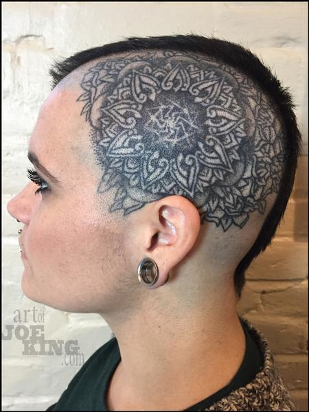 Mandala Head Design Tattoo Design