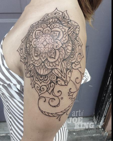 Joe King - Henna inspired mandala