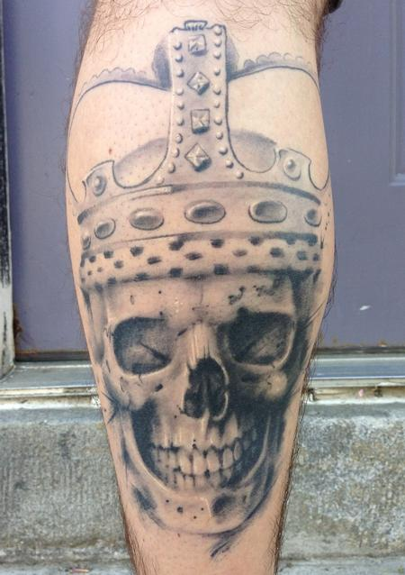 Tattoos - Skull and Crown - 76020