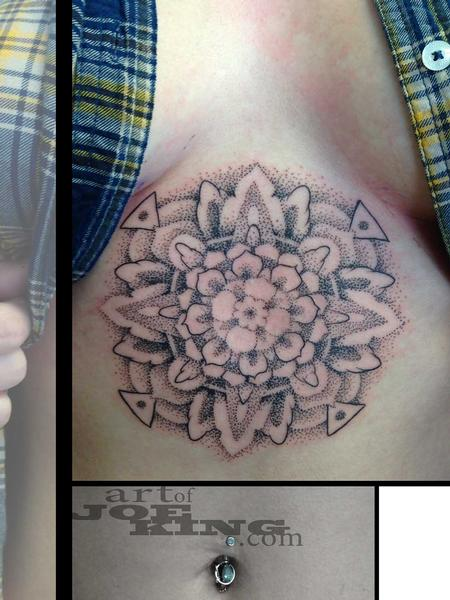Dotwork Mandala Tattoo Design Thumbnail