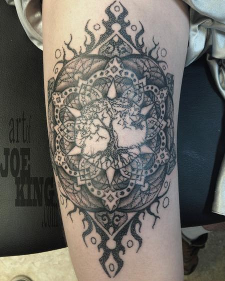 tree of life mandala Tattoo Design Thumbnail