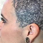 Mandala Head Design Tattoo Design Thumbnail