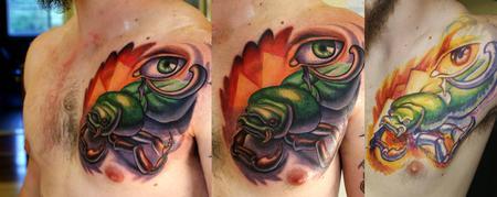 Tattoos - scarab - 68856