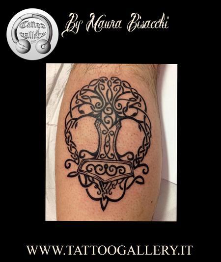 Tattoos - Tattoo Albero, tattoo tree - 80614