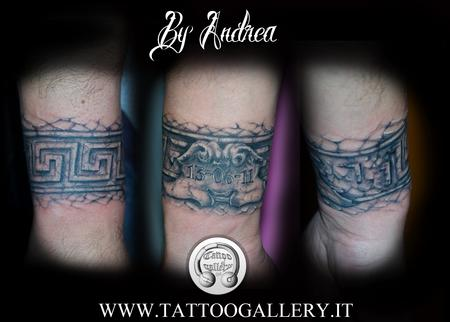 The Gallery Of Tattoo Tattoos Memorial Bracciale Greco