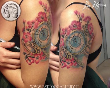 Tattoos - Clock - 115825