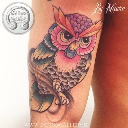 Tattoos - owl - 102315