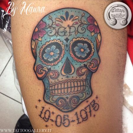 Tattoos - sugarskull - 120170