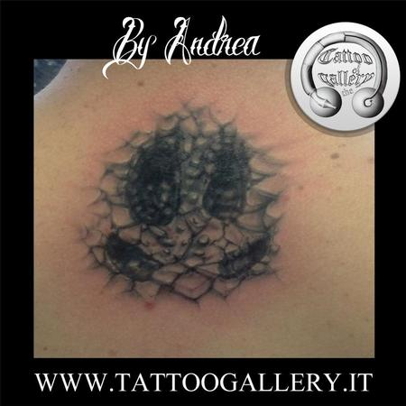 Tattoos - Impronta di cinghiale pietrosa by Andrea! - 95105