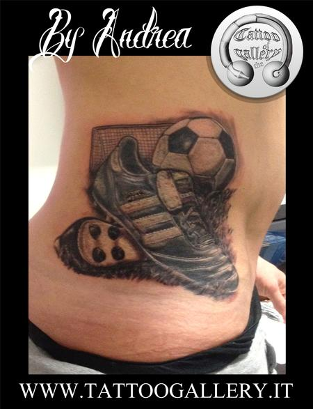 Calcio Tattoo Design Thumbnail
