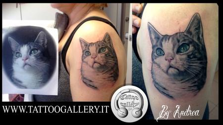 Tattoos - Gatto realistico - 112288