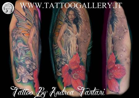 Tattoos - Tatuaggio fata,fairy tattoo - 80627