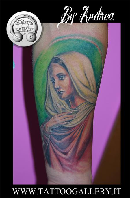 Tattoos - Tattoo Maria vergine,virgin Mary tattoo - 92126