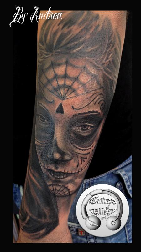 Tattoos - Donna muerte - 119372