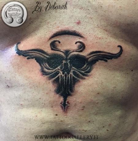Tattoos - Fantasy skull - 115824