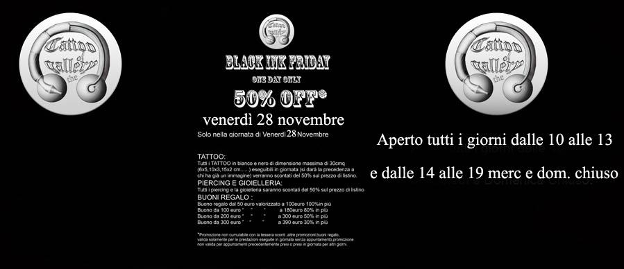Black ink friday, venerd� 28 novembre 2014