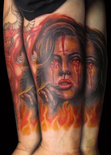 Jared preslar pictures news information from the web for She devil tattoo