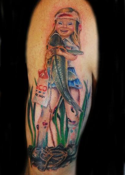 Justin buduo 39 s tattoo designs tattoonow for Everett tattoo emporium