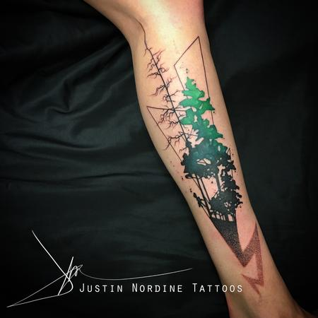 Pine tree Tattoo Thumbnail