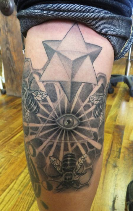 Sacred Geometry  Tattoo Design