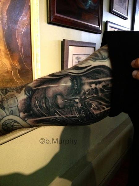 Tattoos - freehand black and grey - 77121