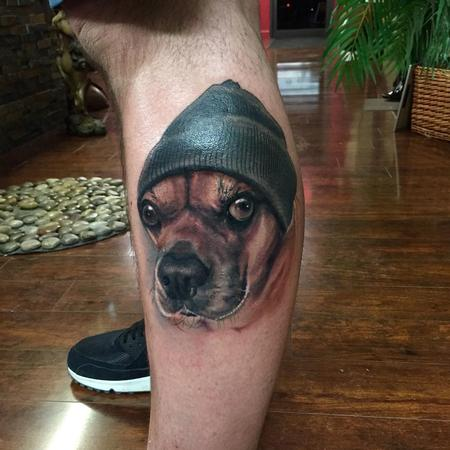 Pugle portrait  Tattoo Design