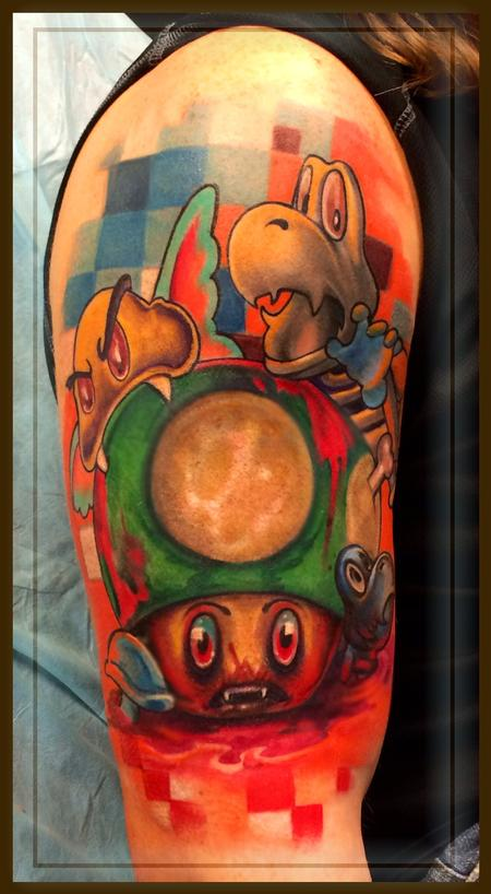 Nintendo  Tattoo Design