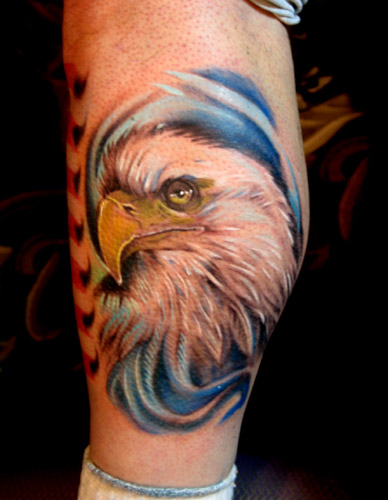 Eagle by brian murphy tattoonow for Tattoo shops in reading pa