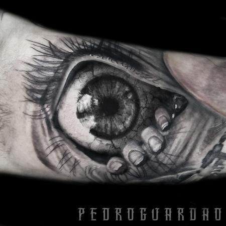 Tattoos - Realistic Eye tattoo done at Till The Grave Tattoo - 116771