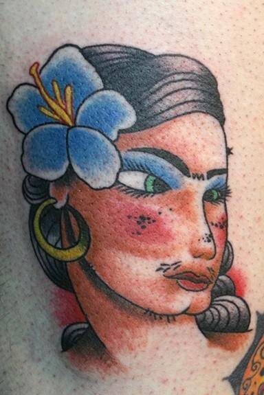 gypsy tattoo. Gypsy+tattoo+art