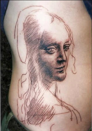 Tim Ebbels - Pencil sketch tattoo