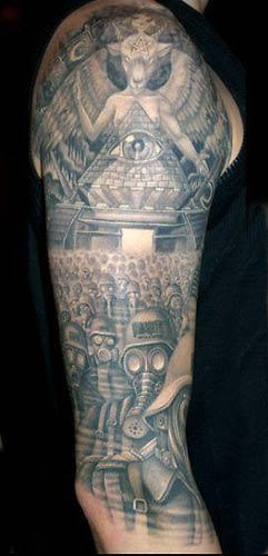 Tattoos - Original Art tattoos - Apocalypse