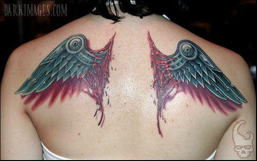 Thumbs Wings Tattoo Pictures to Pin on Pinterest - TattoosKid
